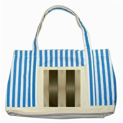 Wall Steel Ivory Creative Texture Striped Blue Tote Bag