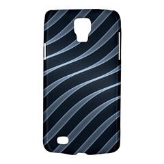 Metal Steel Stripped Creative Galaxy S4 Active