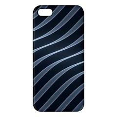 Metal Steel Stripped Creative Iphone 5s/ Se Premium Hardshell Case