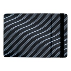 Metal Steel Stripped Creative Samsung Galaxy Tab Pro 10 1  Flip Case