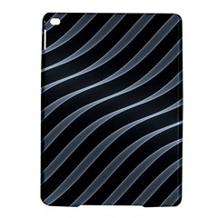 Metal Steel Stripped Creative Ipad Air 2 Hardshell Cases by Nexatart