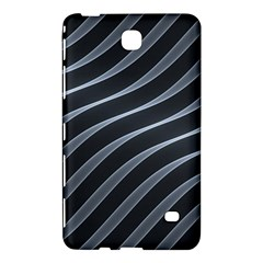Metal Steel Stripped Creative Samsung Galaxy Tab 4 (7 ) Hardshell Case  by Nexatart