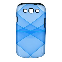 Background Light Glow Blue Samsung Galaxy S Iii Classic Hardshell Case (pc+silicone)