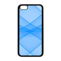 Background Light Glow Blue Apple Iphone 5c Seamless Case (black)