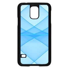 Background Light Glow Blue Samsung Galaxy S5 Case (black)