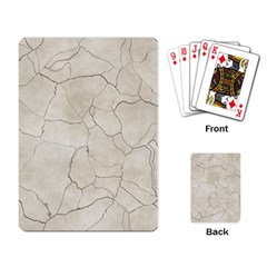 Background Wall Marble Cracks Playing Card by Nexatart