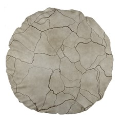 Background Wall Marble Cracks Large 18  Premium Round Cushions