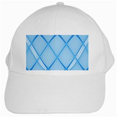 Background Light Glow Blue White Cap