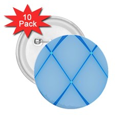 Background Light Glow Blue 2 25  Buttons (10 Pack)
