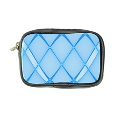 Background Light Glow Blue Coin Purse