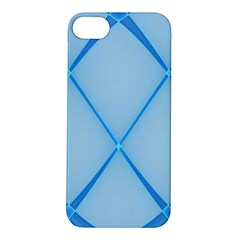 Background Light Glow Blue Apple Iphone 5s/ Se Hardshell Case