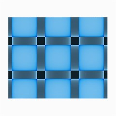 Wall Blue Steel Light Creative Small Glasses Cloth