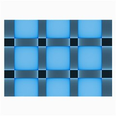 Wall Blue Steel Light Creative Large Glasses Cloth