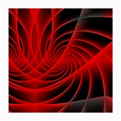 Red Abstract Art Background Digital Medium Glasses Cloth