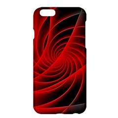 Red Abstract Art Background Digital Apple Iphone 6 Plus/6s Plus Hardshell Case