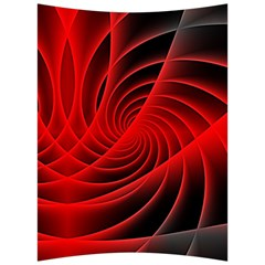 Red Abstract Art Background Digital Back Support Cushion