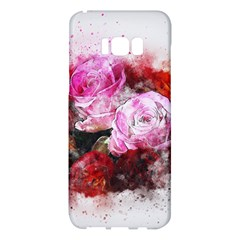 Flowers Roses Wedding Bouquet Art Samsung Galaxy S8 Plus Hardshell Case  by Nexatart