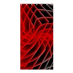 Abstract Red Art Background Digital Shower Curtain 36  X 72  (stall)  by Nexatart