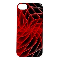 Abstract Red Art Background Digital Apple Iphone 5s/ Se Hardshell Case