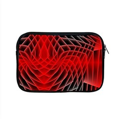 Abstract Red Art Background Digital Apple Macbook Pro 15  Zipper Case
