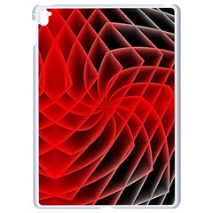 Abstract Red Art Background Digital Apple Ipad Pro 9 7   White Seamless Case