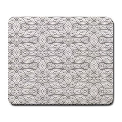 Background Wall Stone Carved White Large Mousepads