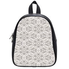 Background Wall Stone Carved White School Bag (small)