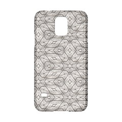 Background Wall Stone Carved White Samsung Galaxy S5 Hardshell Case  by Nexatart