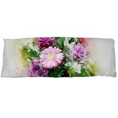Flowers Roses Bouquet Art Nature Body Pillow Case Dakimakura (two Sides)