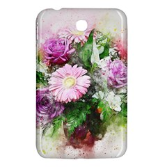 Flowers Roses Bouquet Art Nature Samsung Galaxy Tab 3 (7 ) P3200 Hardshell Case