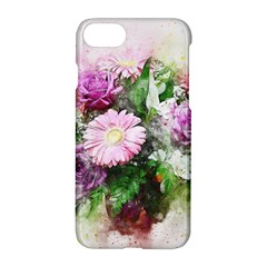 Flowers Roses Bouquet Art Nature Apple Iphone 7 Hardshell Case