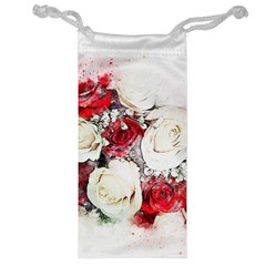 Flowers Roses Bouquet Art Nature Jewelry Bag