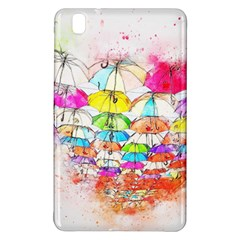 Umbrella Art Abstract Watercolor Samsung Galaxy Tab Pro 8 4 Hardshell Case
