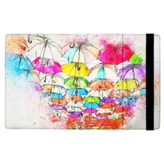 Umbrella Art Abstract Watercolor Apple Ipad Pro 9 7   Flip Case