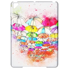 Umbrella Art Abstract Watercolor Apple Ipad Pro 9 7   Hardshell Case by Nexatart