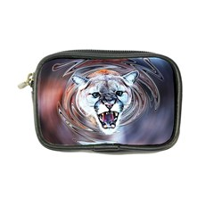 Cougar Animal Art Swirl Decorative Coin Purse by Nexatart