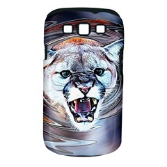 Cougar Animal Art Swirl Decorative Samsung Galaxy S Iii Classic Hardshell Case (pc+silicone) by Nexatart