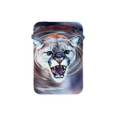 Cougar Animal Art Swirl Decorative Apple Ipad Mini Protective Soft Cases by Nexatart