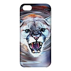 Cougar Animal Art Swirl Decorative Apple Iphone 5c Hardshell Case by Nexatart