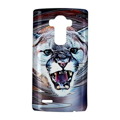 Cougar Animal Art Swirl Decorative Lg G4 Hardshell Case by Nexatart