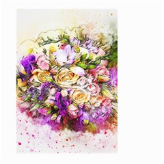 Flowers Bouquet Art Nature Large Garden Flag (two Sides) by Nexatart
