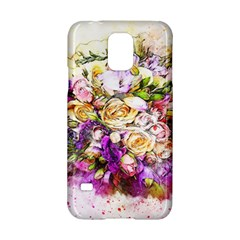 Flowers Bouquet Art Nature Samsung Galaxy S5 Hardshell Case  by Nexatart