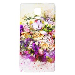 Flowers Bouquet Art Nature Galaxy Note 4 Back Case