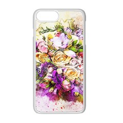 Flowers Bouquet Art Nature Apple Iphone 8 Plus Seamless Case (white) by Nexatart