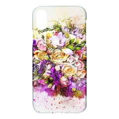 Flowers Bouquet Art Nature Apple Iphone X Hardshell Case