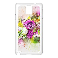 Flowers Bouquet Art Nature Samsung Galaxy Note 3 N9005 Case (white)