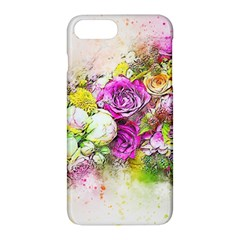 Flowers Bouquet Art Nature Apple Iphone 7 Plus Hardshell Case by Nexatart