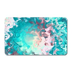 Background Art Abstract Watercolor Magnet (rectangular)