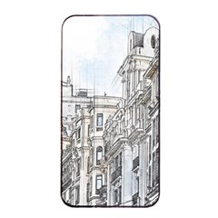 Architecture Building Design Apple Iphone 4/4s Seamless Case (black)