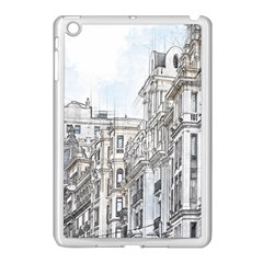 Architecture Building Design Apple Ipad Mini Case (white)